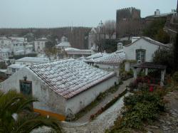 Neve em Óbidos